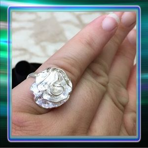 Jewelry - Silver Rose Ring